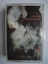 THE CURE DISINTEGRATION CASSETTE FIXHC 14 839 353-4 UK 1989 FICTION LTD. TESTED