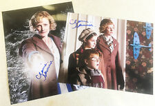 CLAIRE SKINNER 2x SIGNED 10x8 PHOTOS Outnumbered DOCTOR WHO Bridget Jones' Diary