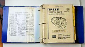 Garrett Turbine Engine Co TPE331 Turboprop Engine Student Guide Manual