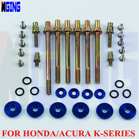 Engine Valve Cover Washer Bolt  Acura FOR Honda Low Profile K20 K24 K-Series BLU
