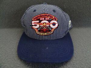 Indy 500 82nd 1998 Grid Logo 7 Athletic VTG Hat Cap IMS Strapback Wool Blend 90s