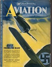 1943 Aviation February - Yearbook shows all planes, engines, specifications
