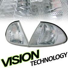 Crystal Chrome Turn Signal Parking Corner Light Yd For 99 00 01 BMW E46 4D 4Dr