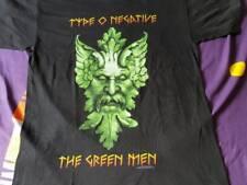 Rare vintage Type o negative the green man blue grape 1997 doom metal gothic