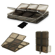 Foldable 12 Slot SIM/Micro SD / TF Memory Card Storage Case Box Holder Protector