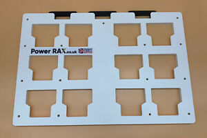 Power Rax Wall mounting Plate for your Milwaukee Packout Tool Boxes storage rack