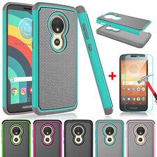 For Motorola Moto E5 Play/Go/Cruise/Plus/Supra Case Cover with Screen Protector
