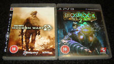 PS3 Call of Duty Modern Warfare 2 Bioshock 2 COD MW2 Bioshock2