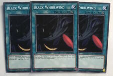 Yu-Gi-Oh! LED3-EN032 - 3 x Black Whirlwind - 1st edition - Common