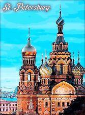 St. Petersburg USSR Russia Vintage Travel Wall Decor Advertisement Art Poster