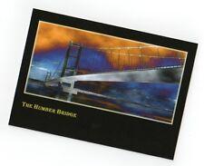 Postcard of The Humber Bridge.