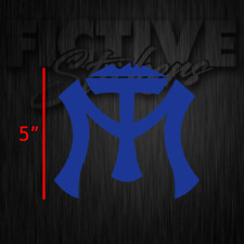 "Sultanes de Monterrey MT Sticker Decal Calcomania 5"" Blue"