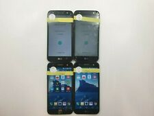 Lot of 4 Parts & Repair LG X Charge M327 16GB Cricket Check IMEI PR TO-1090
