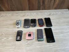 LOT OF 52 CELL PHONES Broken ASIS FOR SCRAP and GOLD RECOVERY