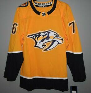 Authentic Nashville Predators #76 SUBBAN Hockey Jersey New Mens 46 (S)