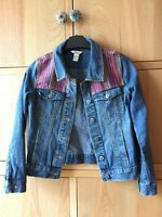 Monsoon Girls Denim Jacket boho detail. Age 11-12 years Excellent condition