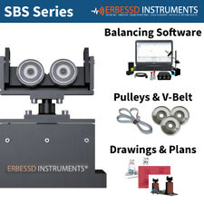 Balancing Machine 2000 Kg Soft Bearing Suspension Erbessd Instruments Sbs2000