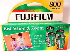 Fuji Film Superia X-tra  800 Speed 35mm (1 Box 96 exposures) Fresh 2017