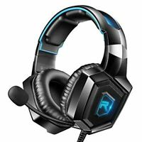 RUNMUS Stereo Gaming Headset for PS4, Xbox One, Nintendo Switch, PC, PS3, Mac, L