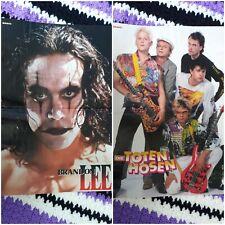 Die Toten Hosen & Brandon Lee Poster Sammlung