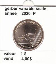 pièces de 1 $ gerber variable scale  2020 P