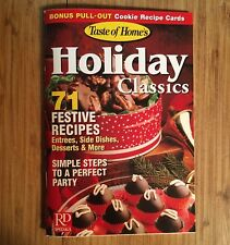 Holiday Classics Christmas Recipe Book Booklet from 2002-Party Planning