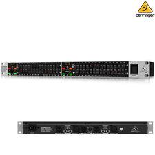 Behringer Ultragraph Pro FBQ1502HD Dual Channel Graphic EQ l Authorized Dealer