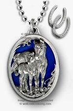 HORSES SUMMER WINDS NECKLACE - MARE FOAL HORSE EQUESTRIAN JEWELRY RODEO COWGIRL*