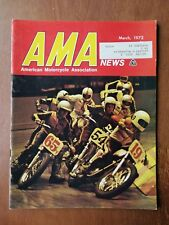 AMA News American Motorcycle Magazine March 1972 - Harley-Davidson Sportster AD