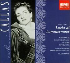 Donizetti: Lucia di Lammermoor/Maria Callas [Box] NEW 2-CD Set (Columbia House)
