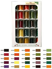 Exquisite Embroidery Thread Set 25 FALL Colors GREAT DEAL