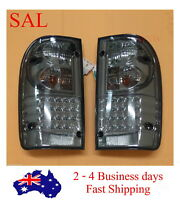LED SMOKED REAR BACK LIGHTS TAIL LAMPS FOR TOYOTA HILUX RH LH 1998 - 2004 99 00