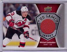 MICHAEL CAMMALLERI 16/17 Upper Deck UD Game-Used Jersey #GJ-MC Hockey Card