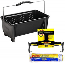 Purdy Dual Roll Off Paint Bucket 19L 5 Gallon with Adjustable Paint Roller Frame