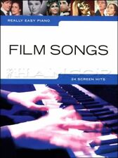 Really Easy Piano Film Songs Sheet Music Book