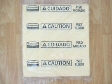 50 - 2/ pkgs Rubbermaid 4252 Over-the-spill Large Refill Pads, Caution Wet Floor