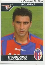 041 THEODOROS ZAGORAKIS GREECE BOLOGNA.FC PAOK STICKER CALCIATORI 2005 PANINI