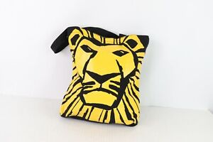 New Vintage Disney The Lion King Broadway Musical Reusable Tote Bag Shopping Bag