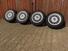 Orig. BBS BMW e30 croix rayons jantes alu 7jx15 et24 Euro Weave WHEELS VW GTI RS