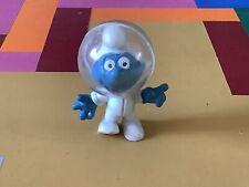 Vintage Smurf Astronaut NASA Spaceman Space Helmet Plastic 1980s
