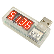 1PC Voltage Current Meter Battery Tester USB Charger Doctor Power Detector