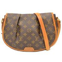 Louis Vuitton Menilmontant PM M40474 Monogram Crossbody Shoulder Bag Pochette