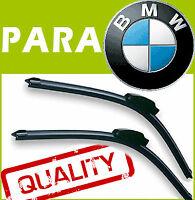 2 Escobillas Limpiaparabrisas Flexibles para BMW X5 serie 2000-2007 60/55cm
