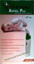 Aspiratore Nasale Elettrico Unifamily a batterie neonato bambino aspiramuco