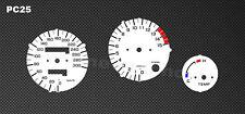 Honda CBR 600 F PC25 Tachoscheiben Tacho CBR600 Gauge plates dial