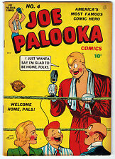 JOE PALOOKA #4 6.0 OFF-WHITE TO WHITE PAGES GOLDEN AGE