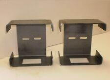 Pair of Steel Tail Brake Light Guard Square Box Trailer Truck Over 80""