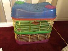Imac Fantasy Hamster Cage 3 Tier With 8 Inch Wheel