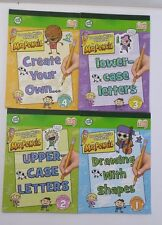 Leap Frog Tag Reader Work Books Learn to Draw with Mr. Pencil