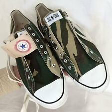 Vintage NOS USA-MADE Converse All Star Chuck Taylor shoes sz 13 camouflage VIDEO